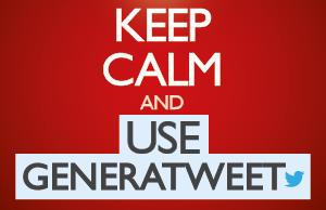 Outils Twitter : GeneraTweet fête sa première année !