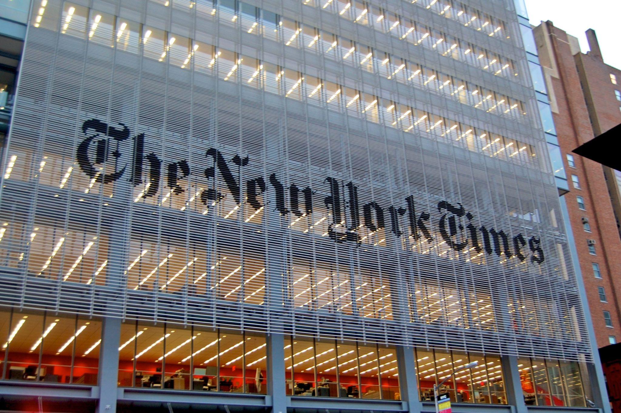 New York Times : victoire sociale d'un média, victoire média du social