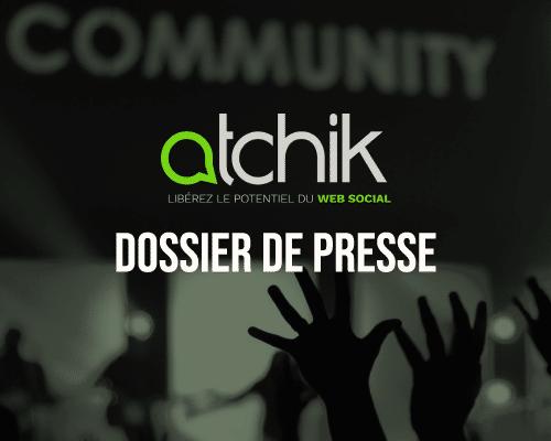 Lien de téléchargement du dossier de presse d'Atchik