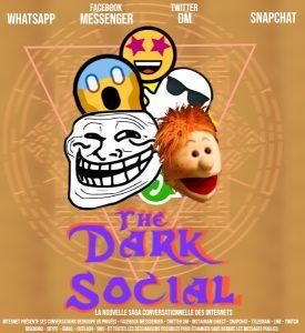 Allusion au film The Dark Crystal remplacé par The Dark Social