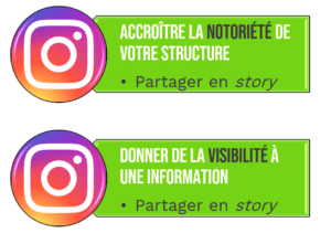 Marque employeur instagram like partage story