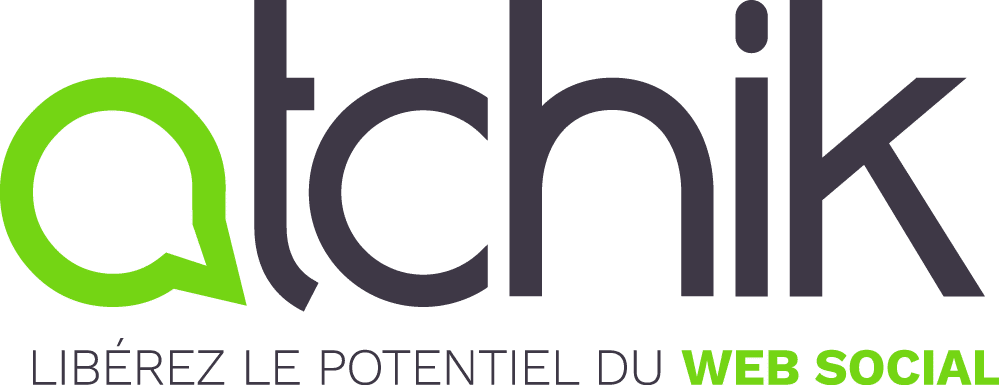 Moyen logo Atchik avec baseline