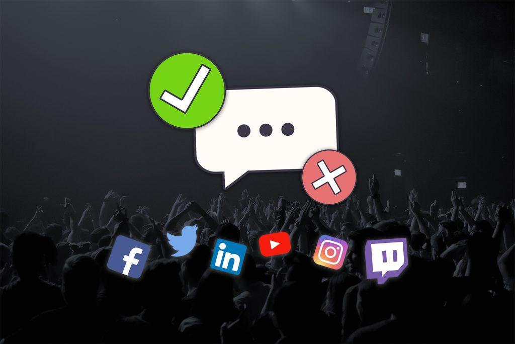 illustration modération régulation réseaux sociaux trump