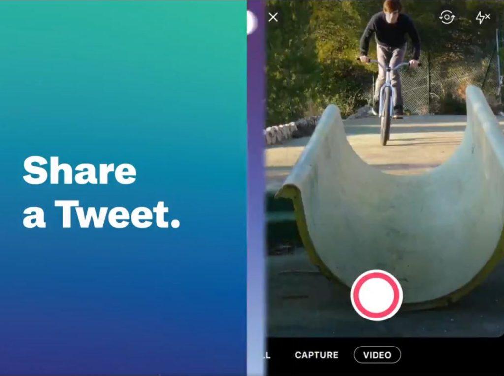 Exemple Twitter Fleets