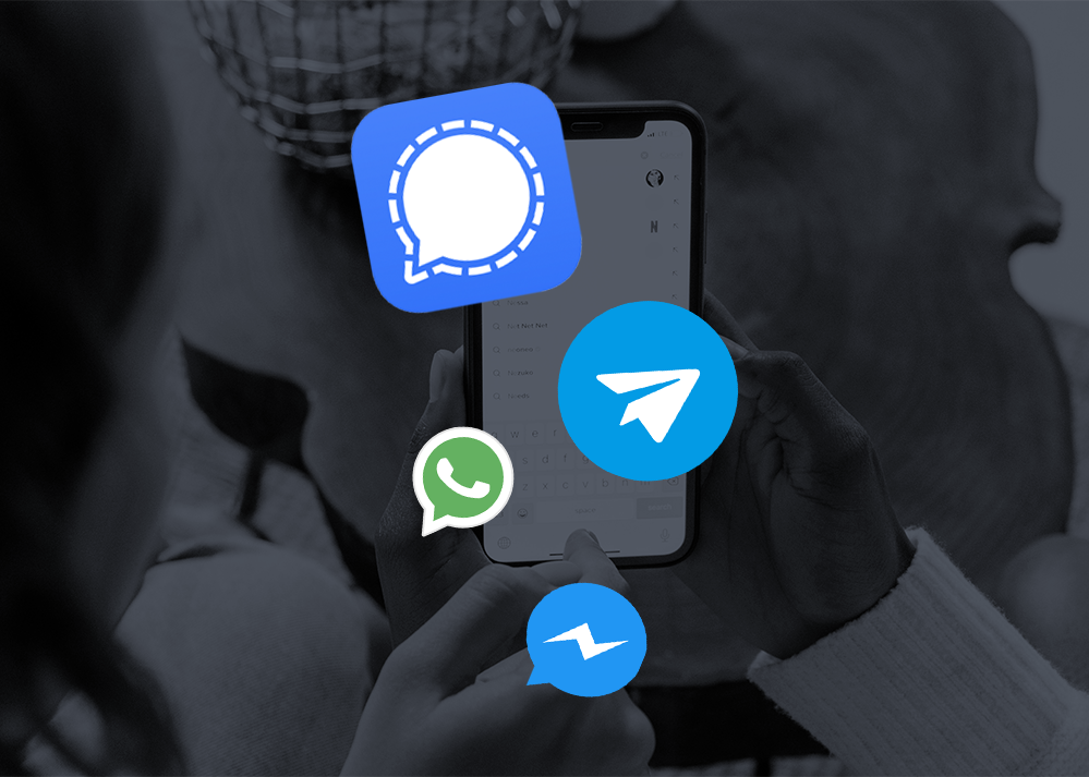 Whatsapp, Signal… Quelles stratégies pour les messageries?
