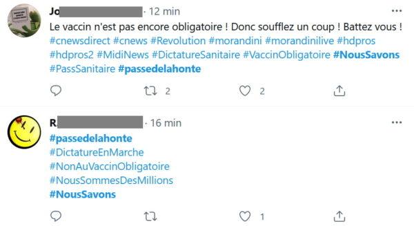 exemples tweets #passedelahonte #passdelahonte #noussavons